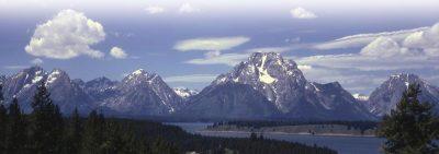 Yellowstone Lake Mountains